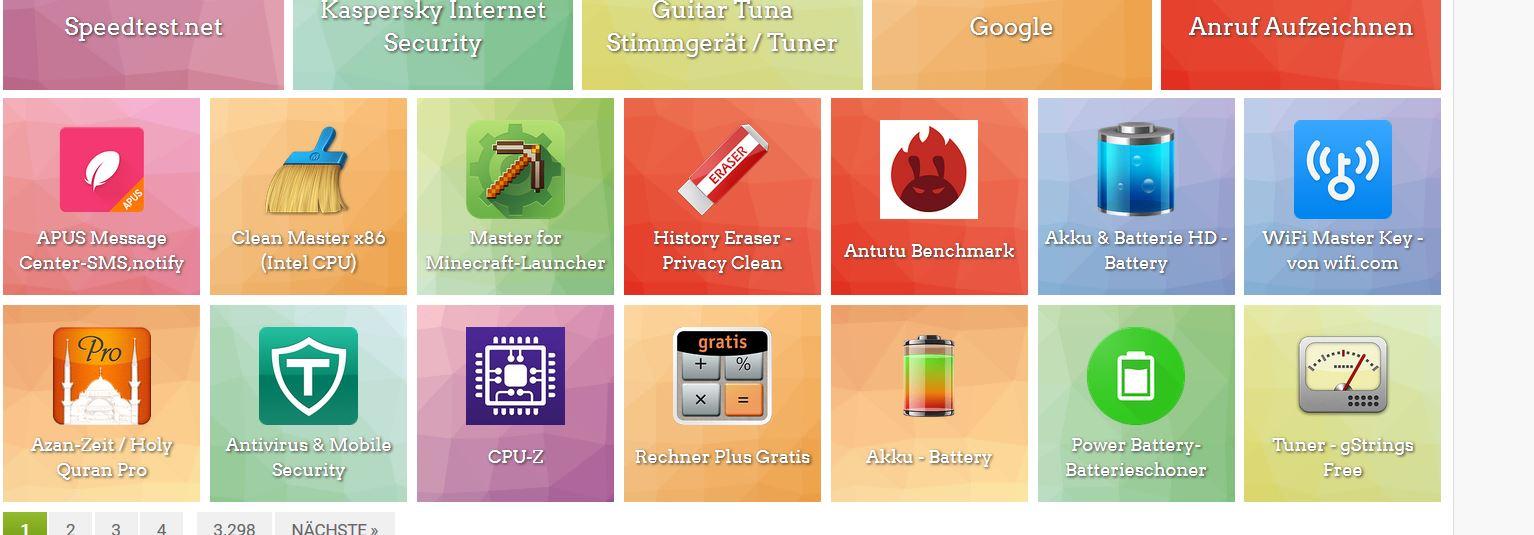 Foto Apps für das Smartphone.