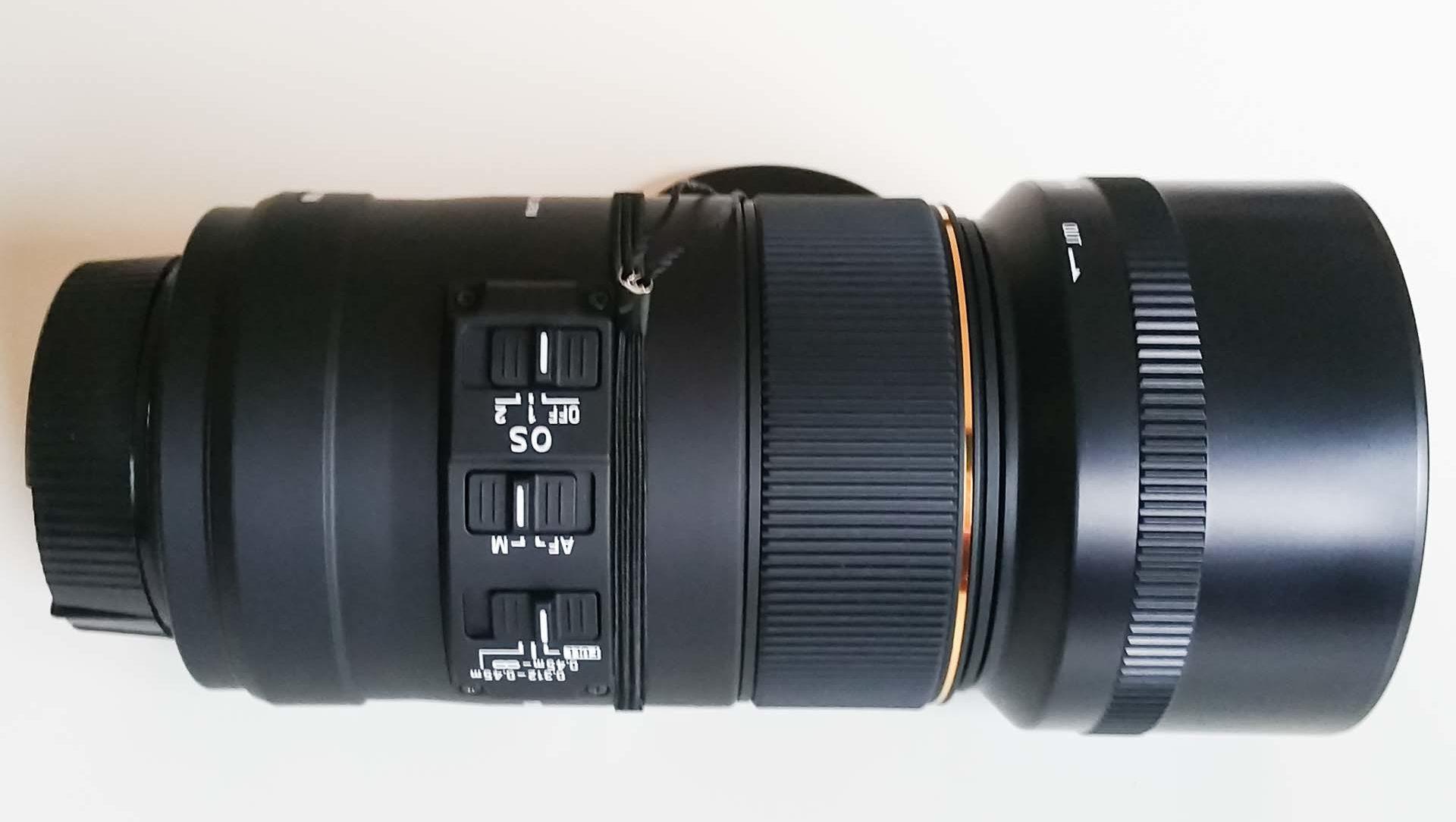 Nahaufnahme Sigma 105mm f2,8 Makro