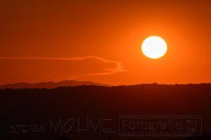 Sonnenuntergang,rot,licht,stimmung,farbe,toskana,landschaft,natur