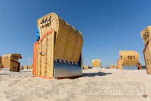 Strandkorb,Sommer,himmel,blau,strand,sand