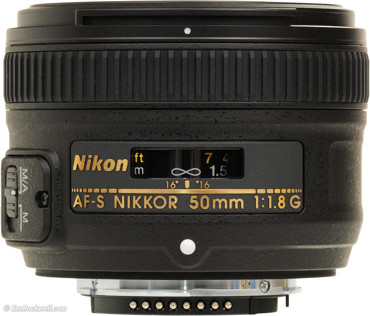 Nikon Festbrennweite AF S 50mm F/1,8 G, meine Erfahrungen.