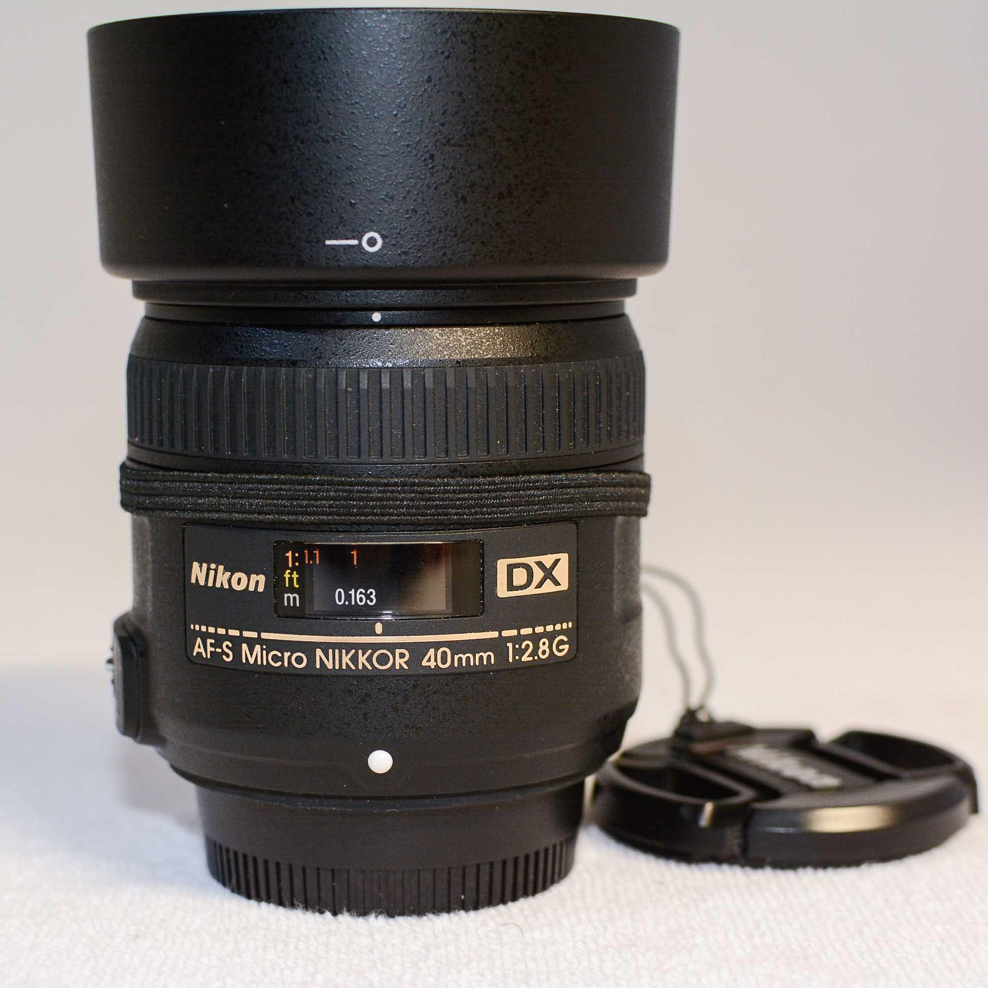 nikon 40mm makro objektiv