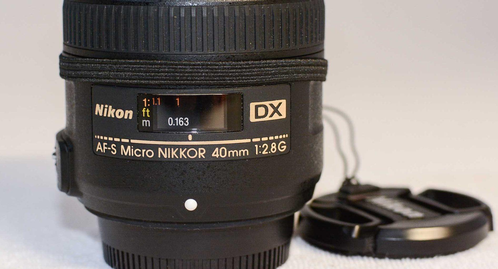 Nikon AF-S DX Micro-Nikkor 40mm 1:2,8G, meine Erfahrungen.
