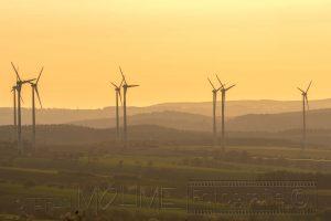 Windraeder,Sonnenuntergang,Landschaft,Gegenlicht