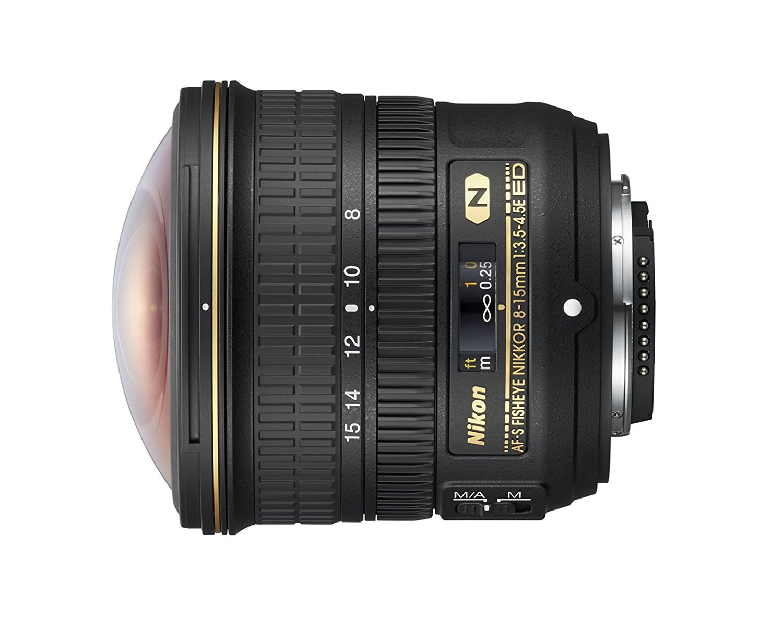 Fisheye Nikon stellt AF-S 8-15 mm 1:3.5-4.5E ED  vor.
