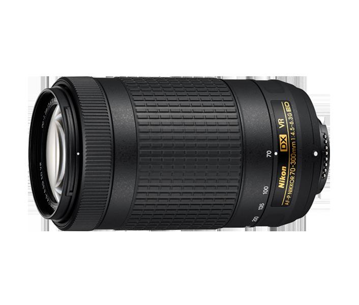 Telezoom Nikon AF-P Nikkor 70–300 mm 1:4,5-5,6E ED VR vorgestellt.