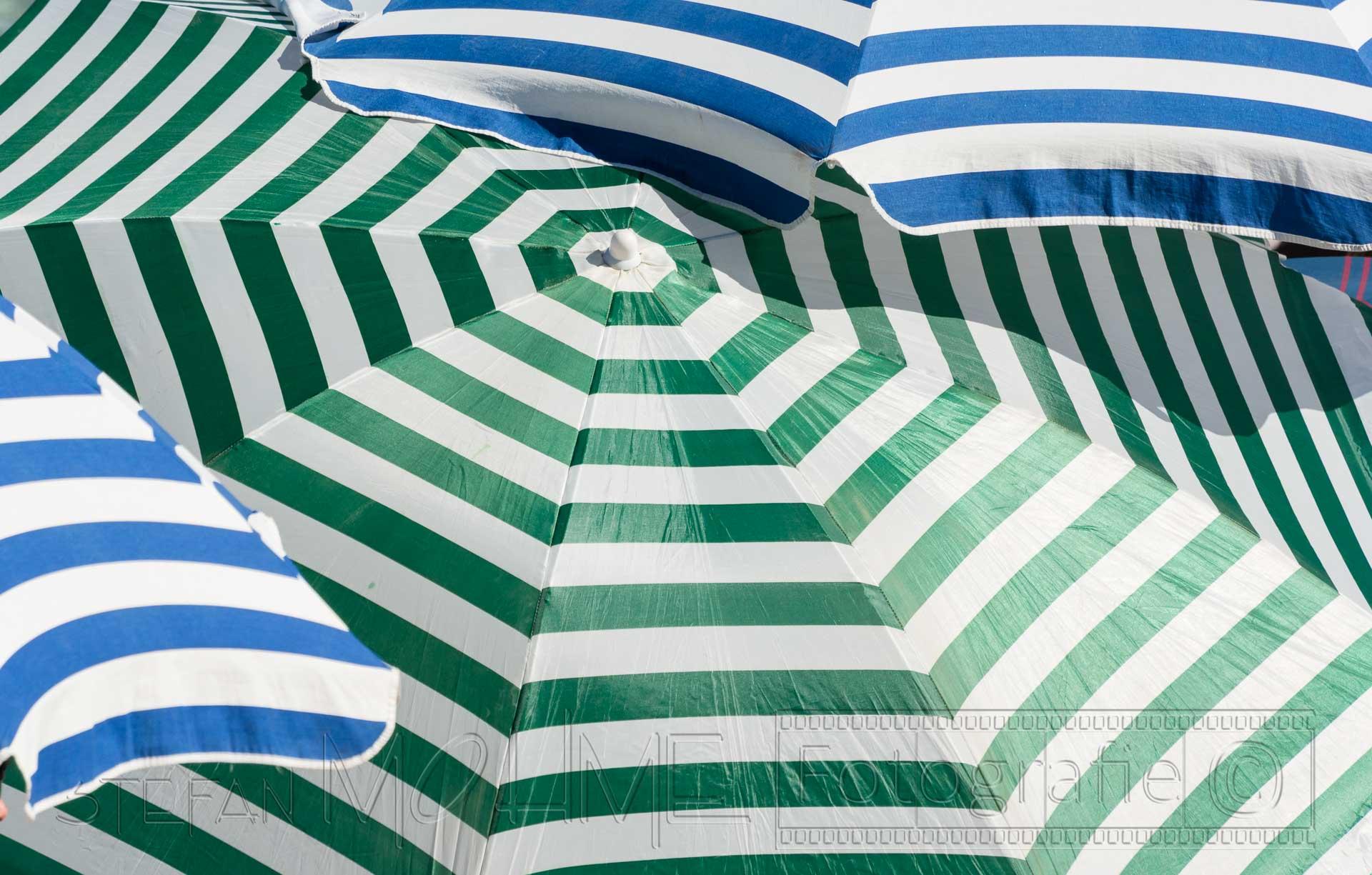 Sonnenschirm,detail,farbig,gruen