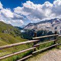 Berge,gebirge,wolken,felsen ,dolomiten,italien,zaun