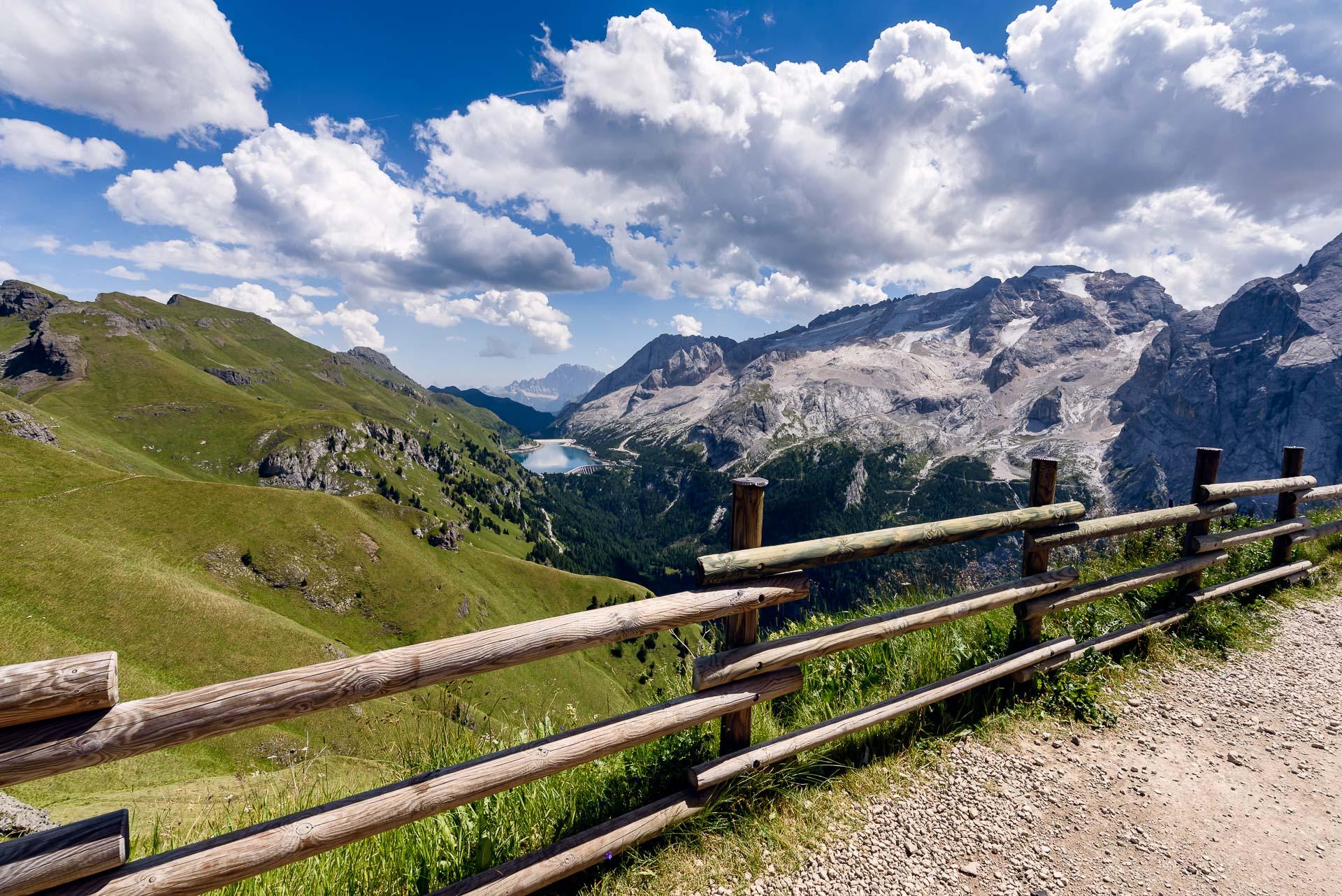 Neue Bilder aus den Dolomiten online.