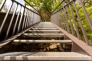 treppe,stahl,skywalk,weser,details,nahaufnahme