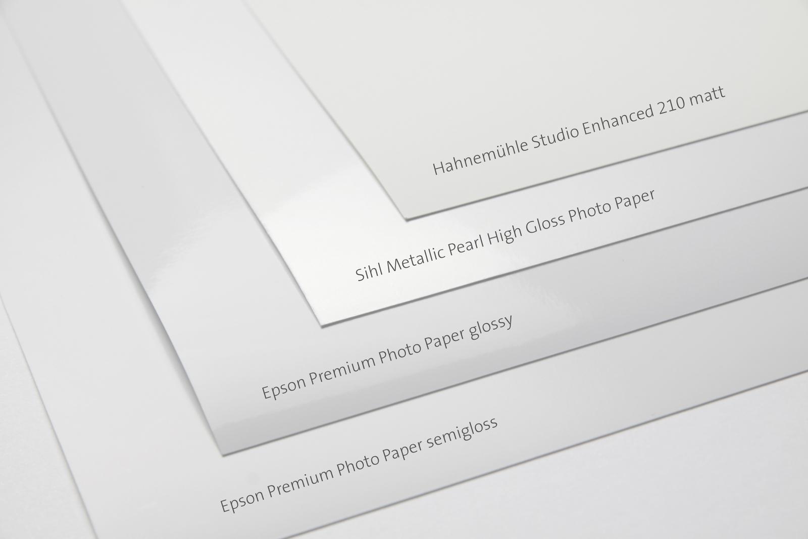 Fine Art Drucker Epson SC P 800, mein Fazit Teil 2, die Papiere, meine Empfehlungen!