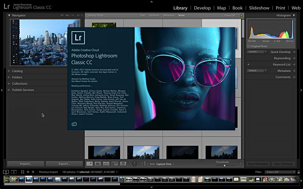Adobe aktualisiert Lightroom CC .