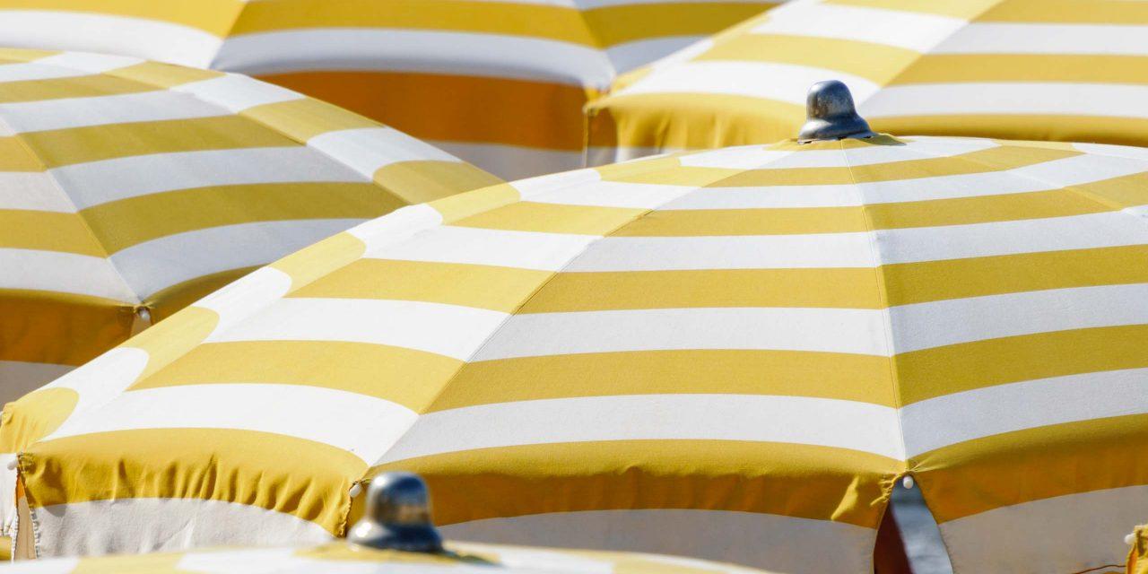 Sonnenschirm,farbe,gelb,nahaufnahme, details