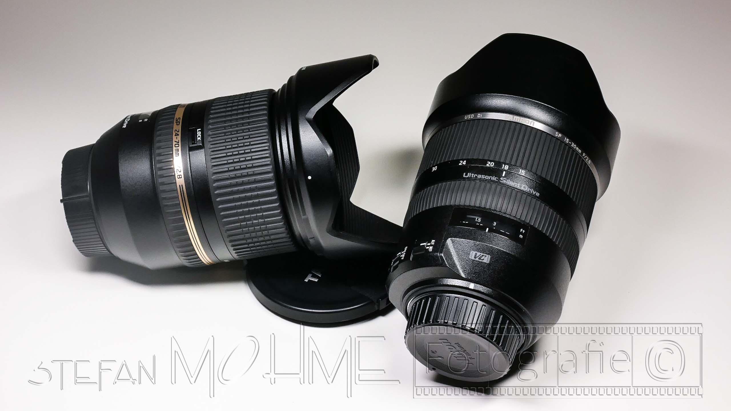 Meine Empfehlungen, für Zoom Objektive im Nikon Vollformat (FX).