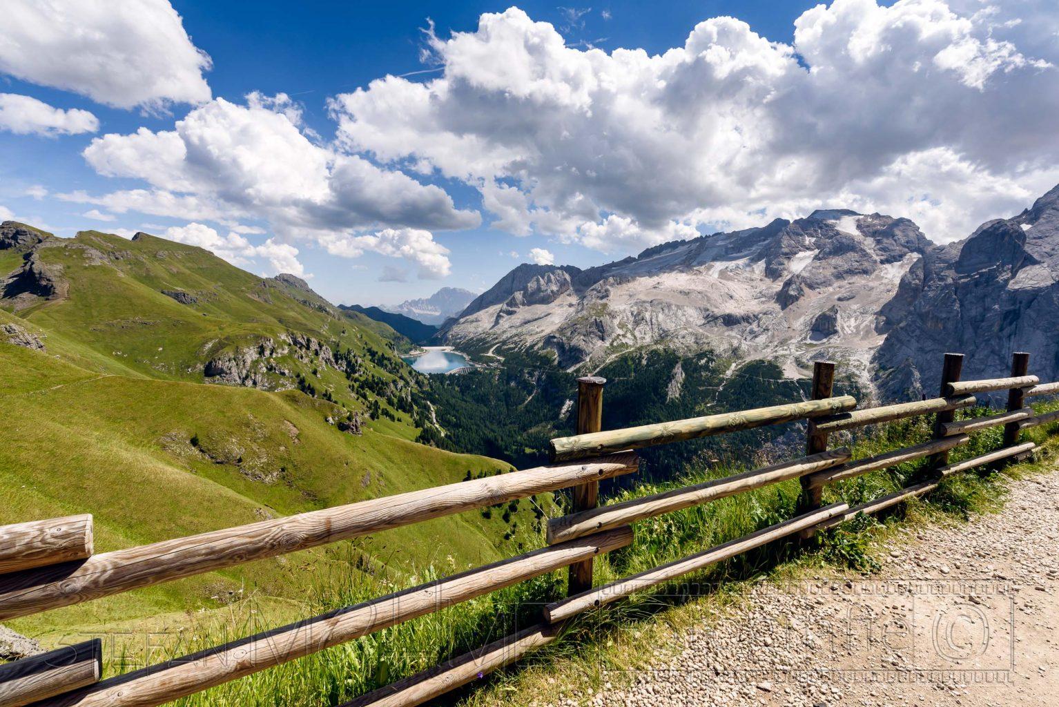 Wandern,Dolomiten,Alpen,Bindelweg,Sommer,Berge,Gebirge,Weitwinkel