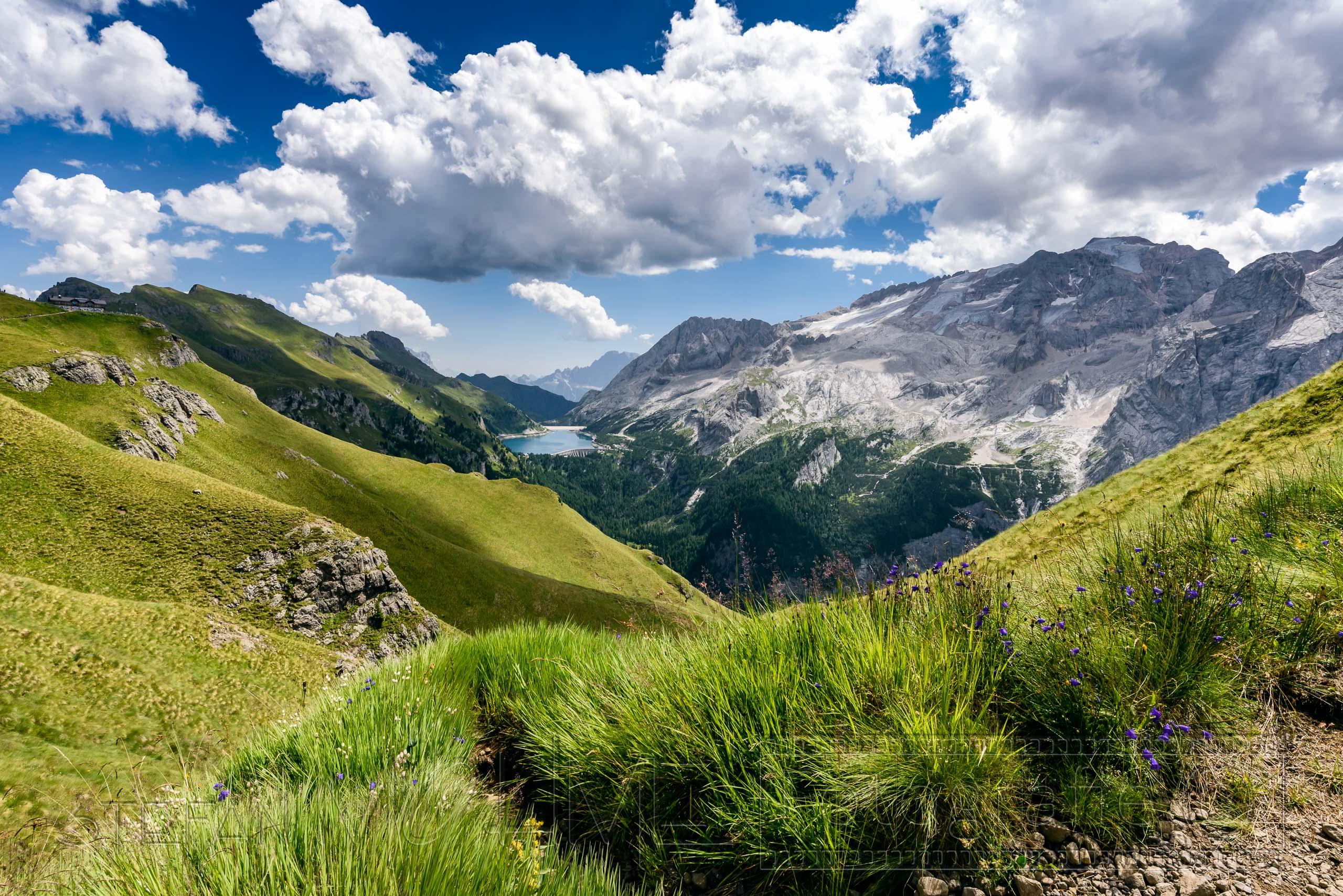 Wandern,Dolomiten,Alpen,Bindelweg,Sommer,Berge,Gebirge