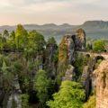 Elbsandsteingebirge, Bastei,Sonne ,Sonnenaufgang,licht,saechsische schweiz,landschaft,natur,gebirge