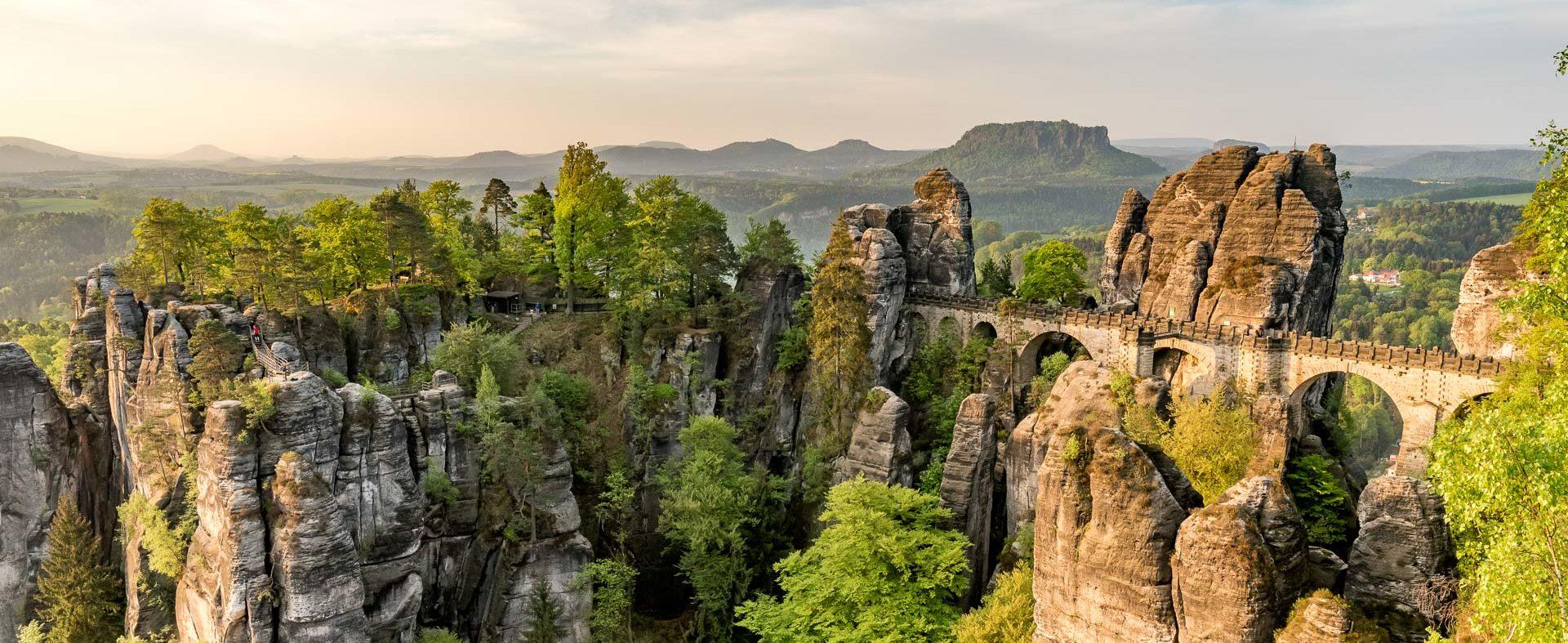 Wanderwochenende im Elbsandsteingebirge.
