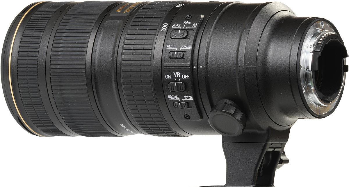 Vorstellung, Nikon AF-S 70–200mm 1:2,8G ED VR II.