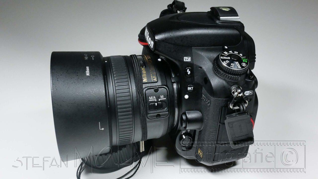 Vorstellung, DSLR Nikon D750 FX Vollformat.