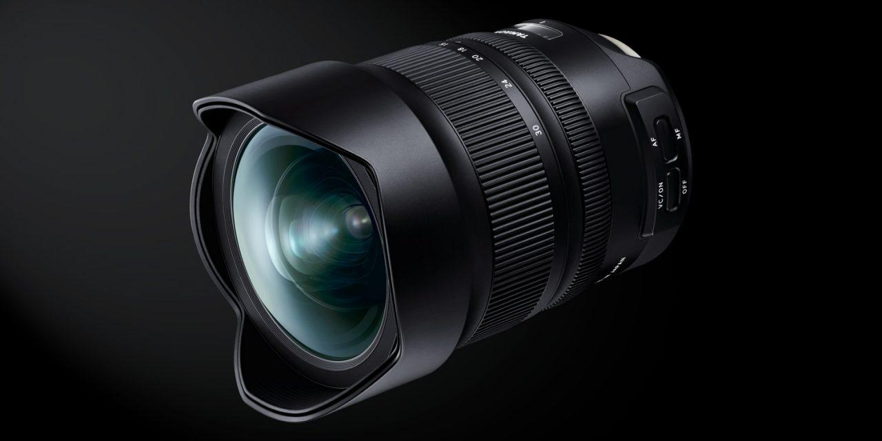 Tamron stellt neues Weitwinkelzoom SP15-30mm F2.8 Di VC USD G2 vor.