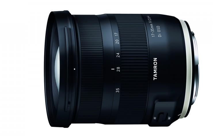 Tamron stellt neues 17-35mm F/2,8-4,0 Weitwinkelzoom vor.