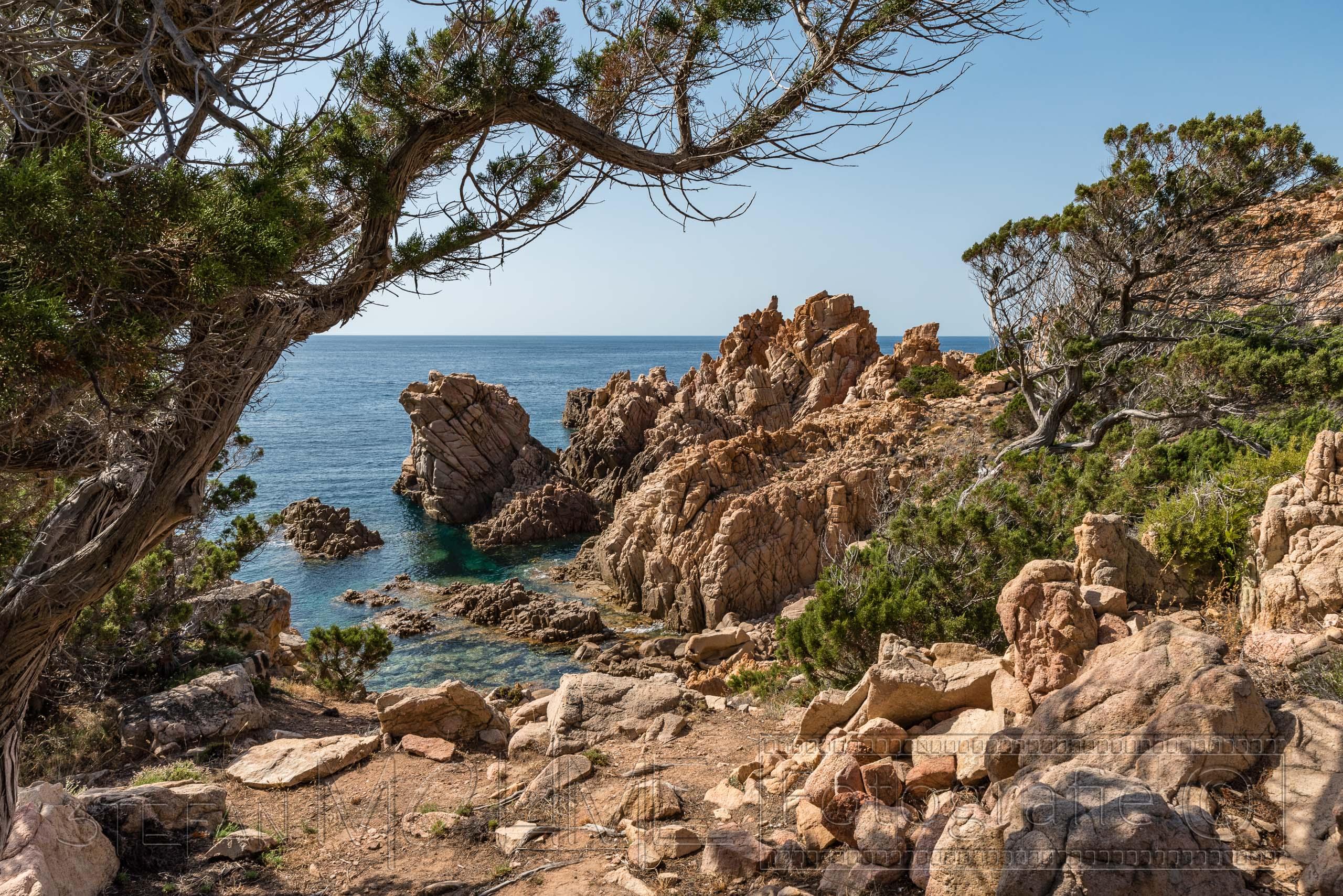 Sardinien, Wanderung entlang der Costa Paradiso.
