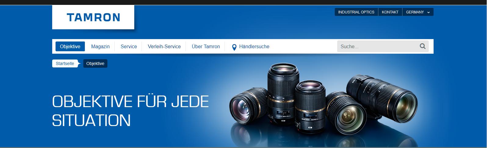 Neue Firmware für Tamron Objektive für Nikon Z6 & 7 Nutzung.