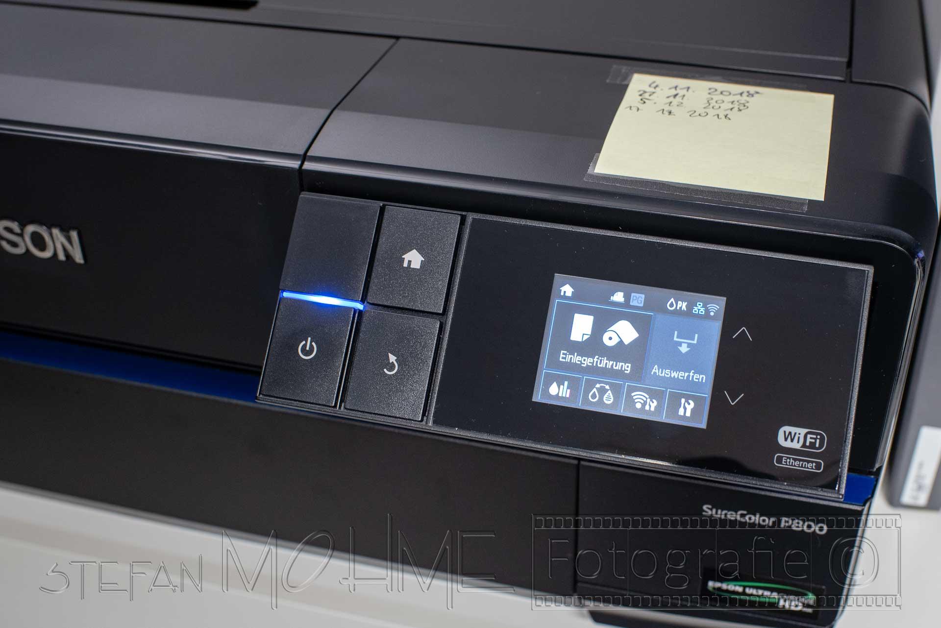 Fine Art Drucker Epson SC P800, mein Fazit. Teil1, Hardware