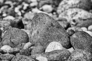 steine,kies,kueste,nahaufnahme,details,schwarz weiss