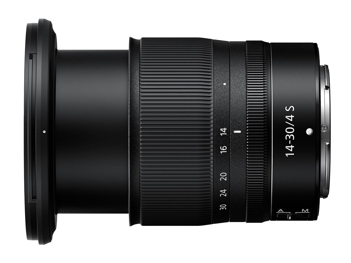 Nikon stellt neues S-Line, Ultra-Weitwinkel-Zoom Z 14-30 mm F4 S vor.