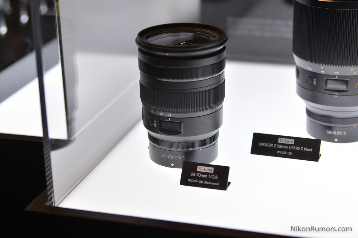 Nikon kündigt neues S Line Objektiv 24-70mm F/2,8 an.