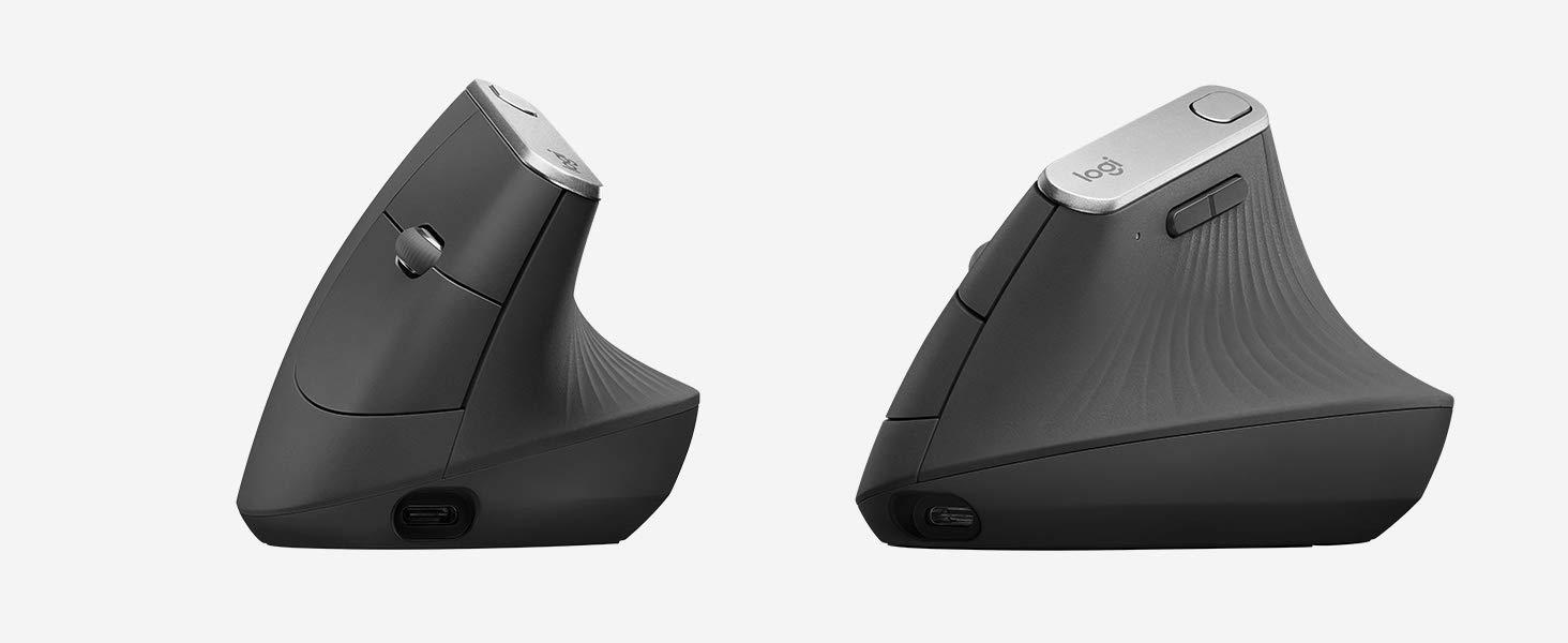 Meine neue Logitech Vertikal Maus MX.