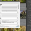 Lightroom, metadaten,screenshot