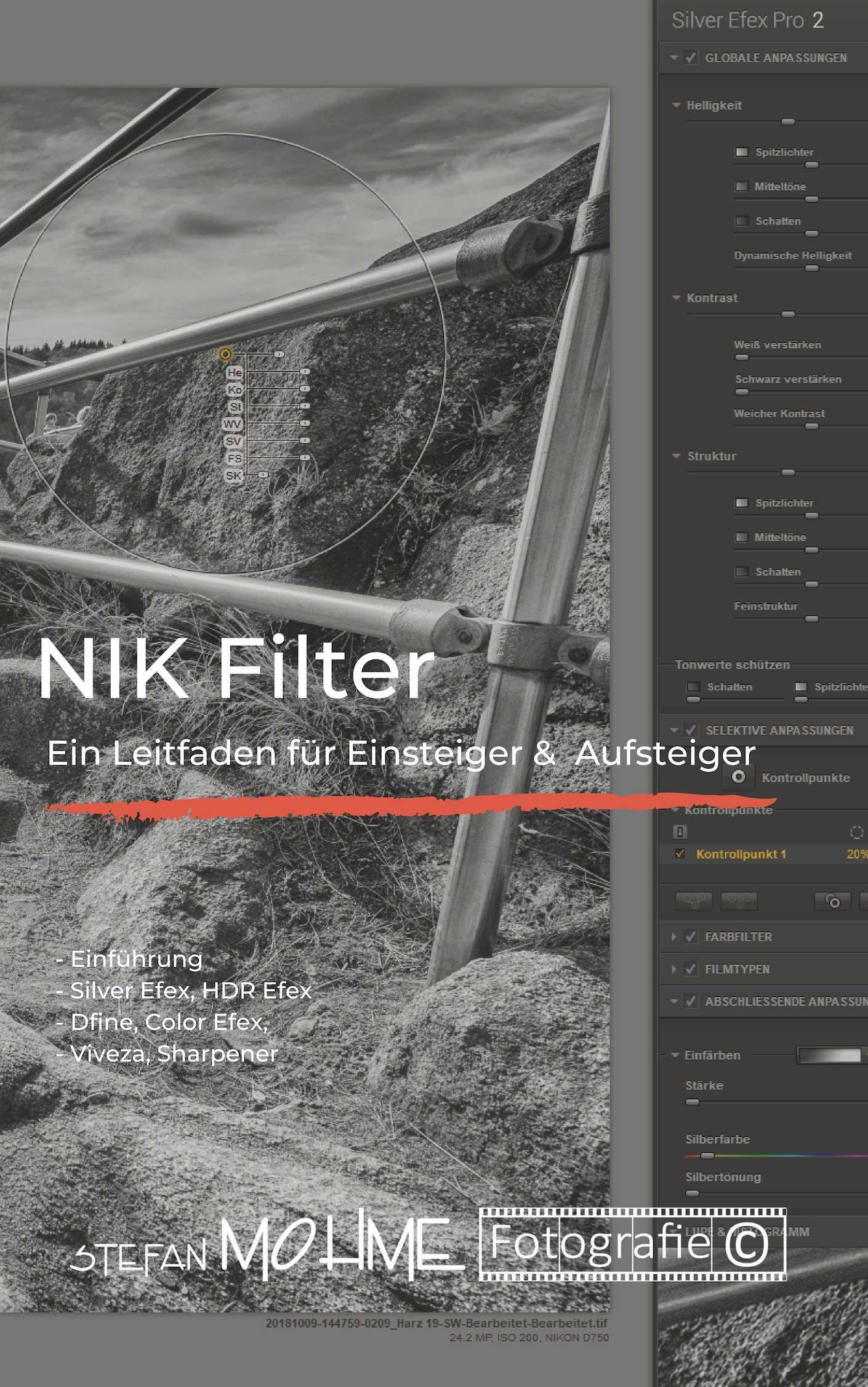 PDF, Nik Filter, einsteiger