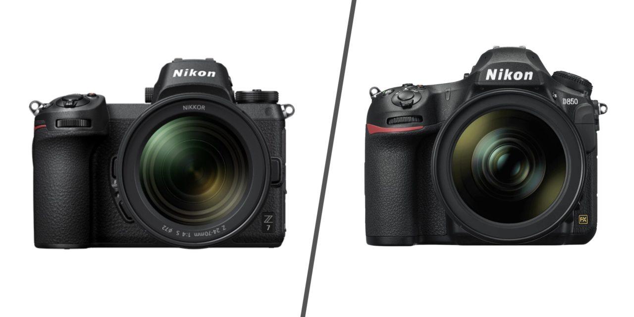 Nikon,kamera,z7,D850