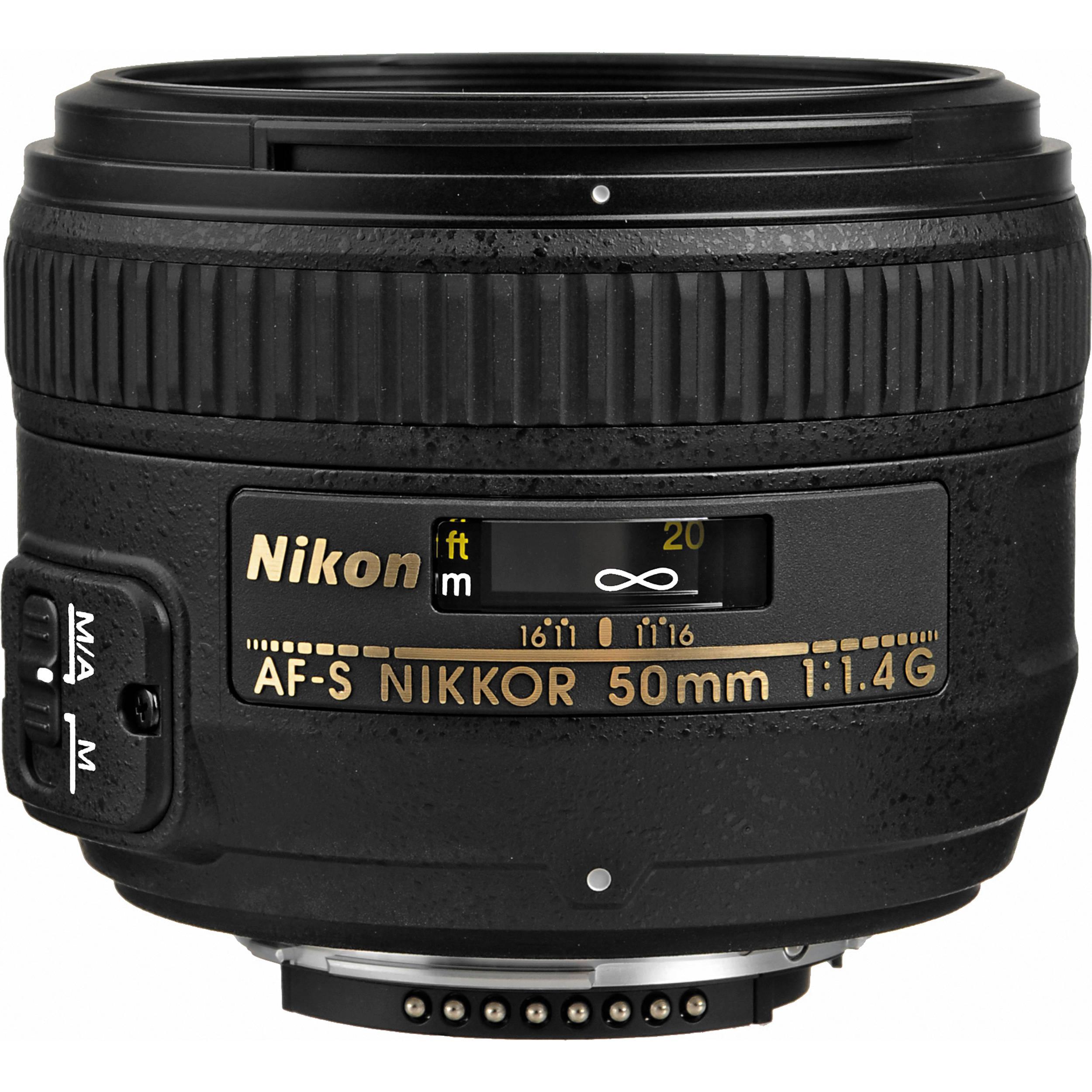 Vorstellung Standardobjektiv Nikon AF-S 50mm F/1,4 G