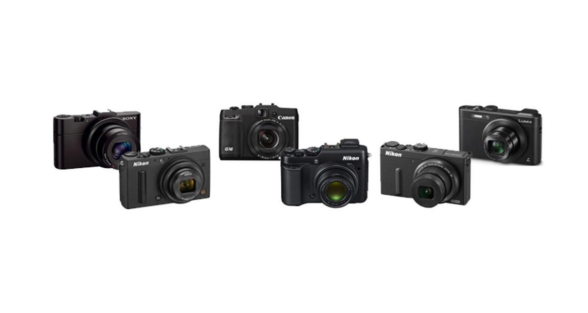 kamera,kompaktkameras,verschiedene