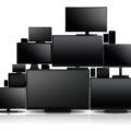 monitore,many,nahaufnahme,unterschiedlich