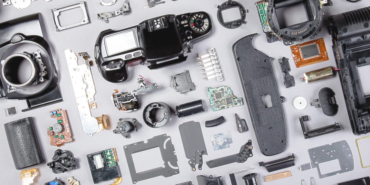 fotoapparat,details,einzelteile,nahaufnahme,elektronik