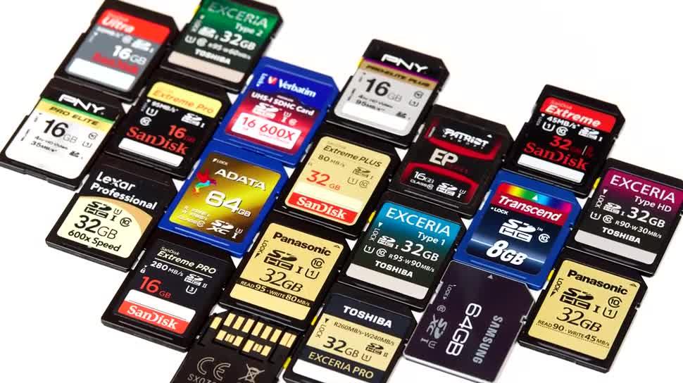 speicherkarten,viele,verschiedene,nahaufnahme,details,bilderarchivierung