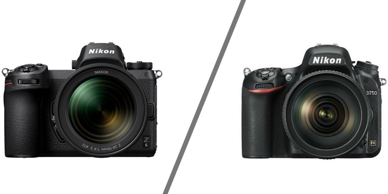 Nikon D750 vs Nikon z6