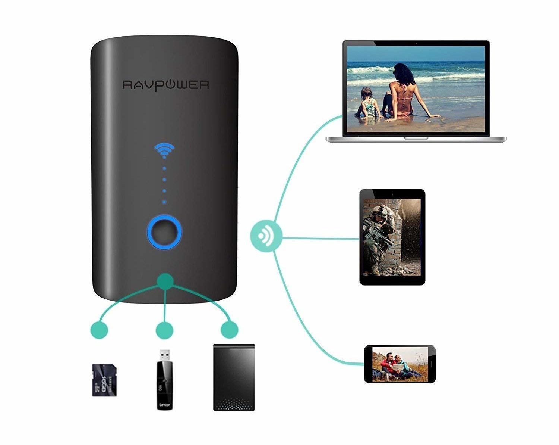 RAV Power kabelloser router