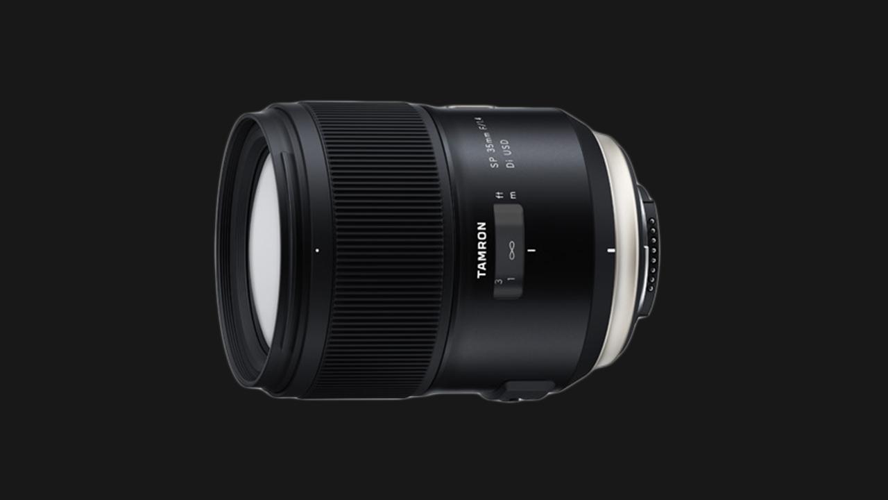Tamron präsentiert das SP 35mm F/1,4 Di USD.