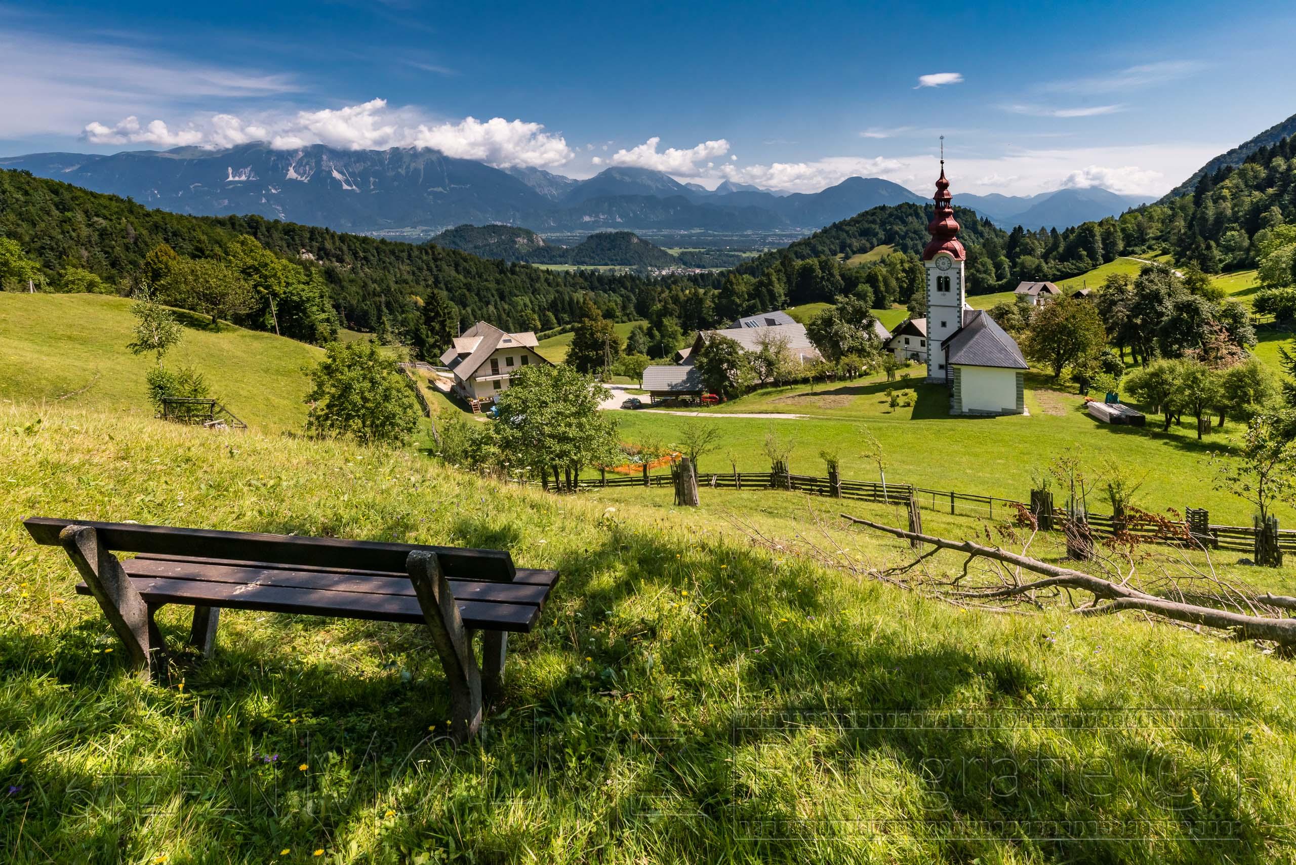 Slowenien Bled, aussichtsreiche Wanderung auf den Babji Zob.