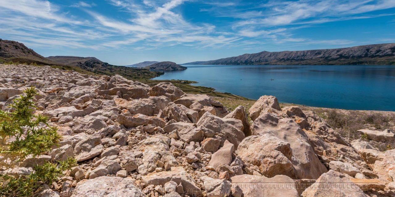 Kroatien Insel Pag Kueste