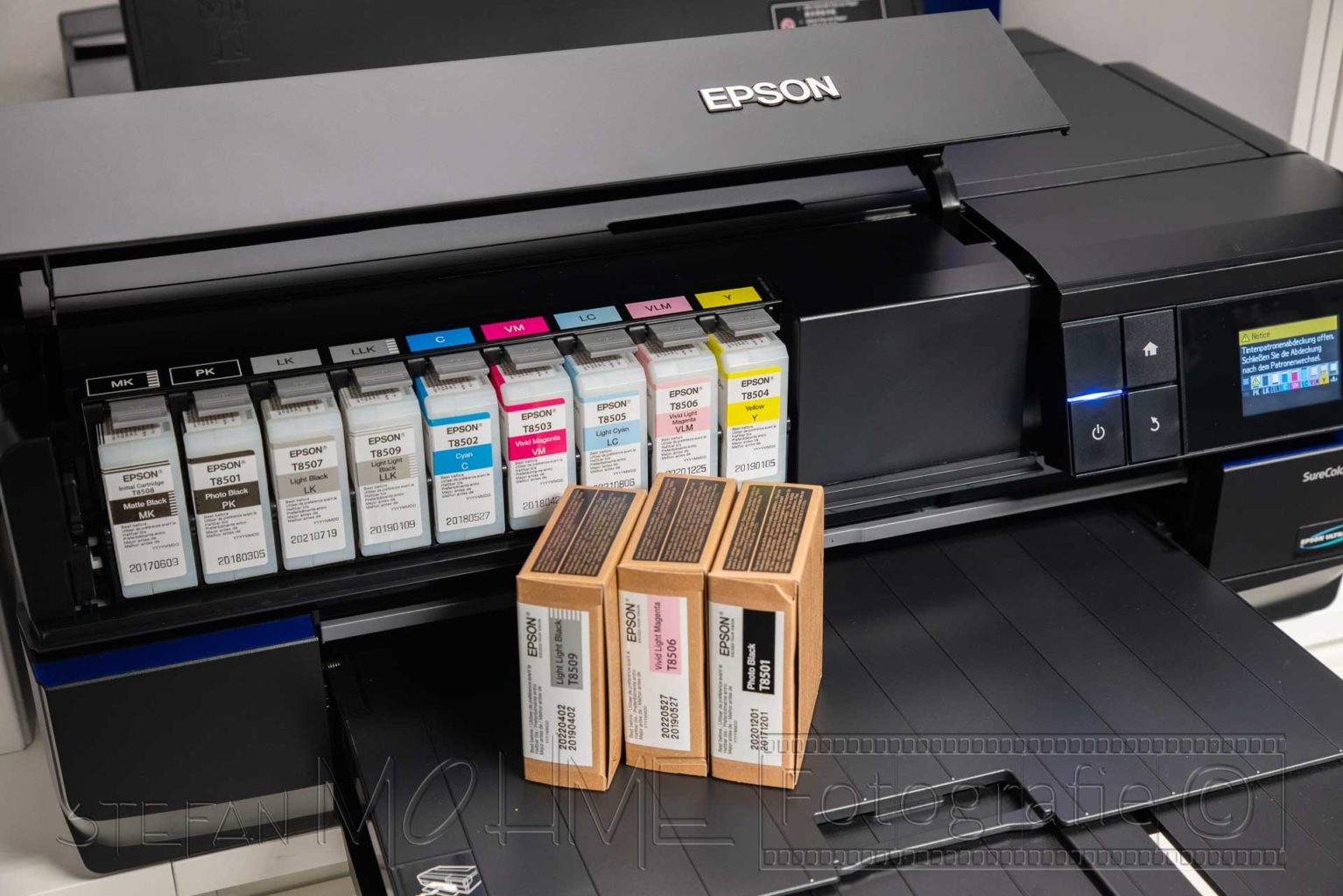 Epson Drucker und Druckertinten