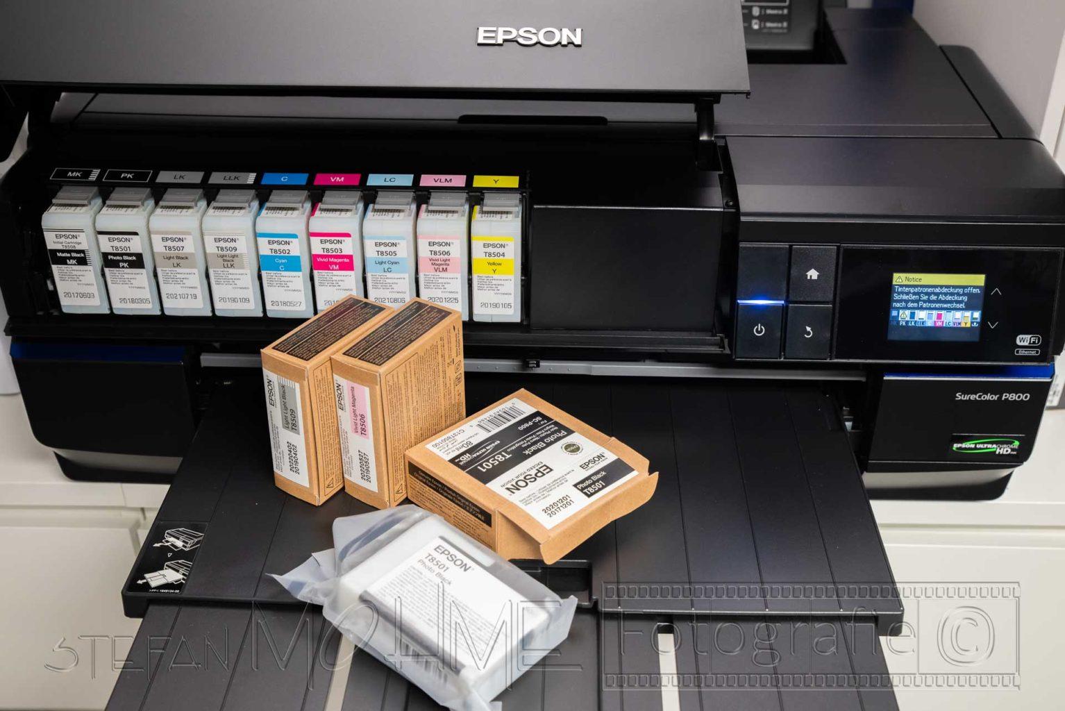 Epson Drucker Druckertinten