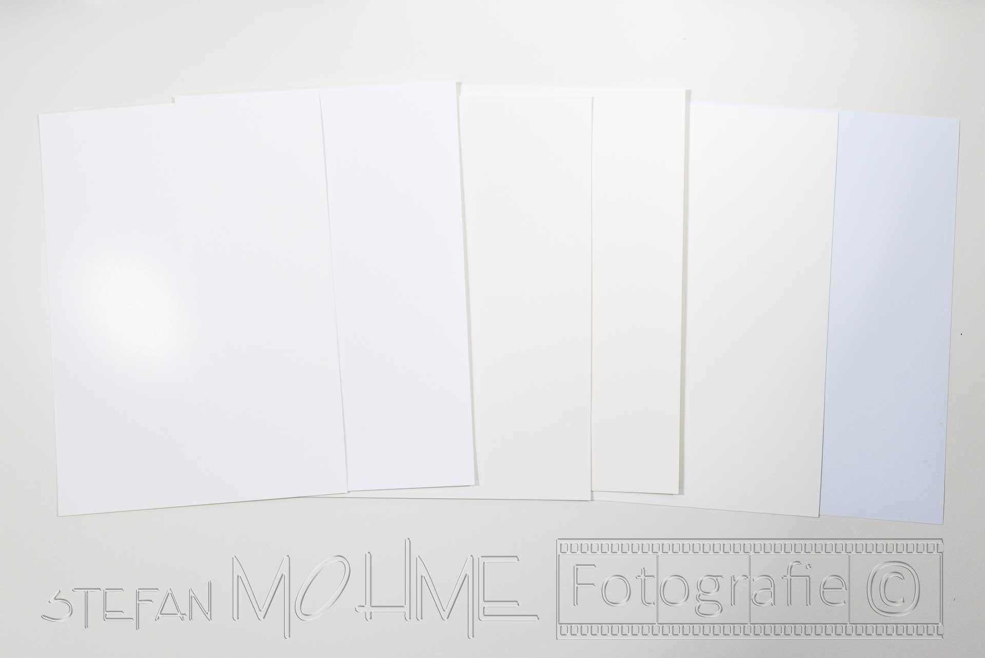 Fotopapier,viele,verschiedene
