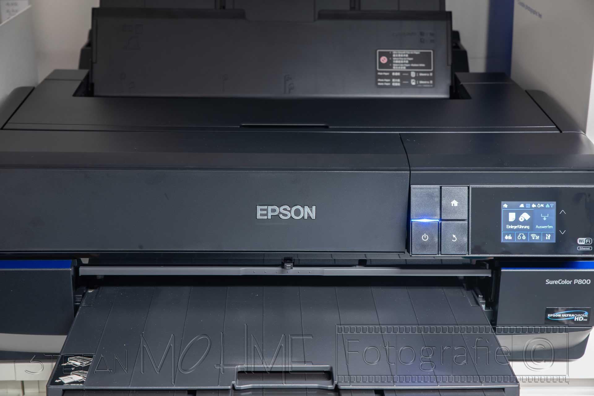 Fine Art Drucker Epson SC P800, Meine Erfahrungen.